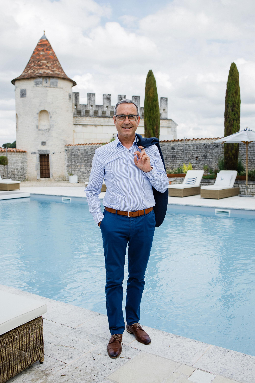 Франсуа Тибо впоместье Le Logis Grey Goose