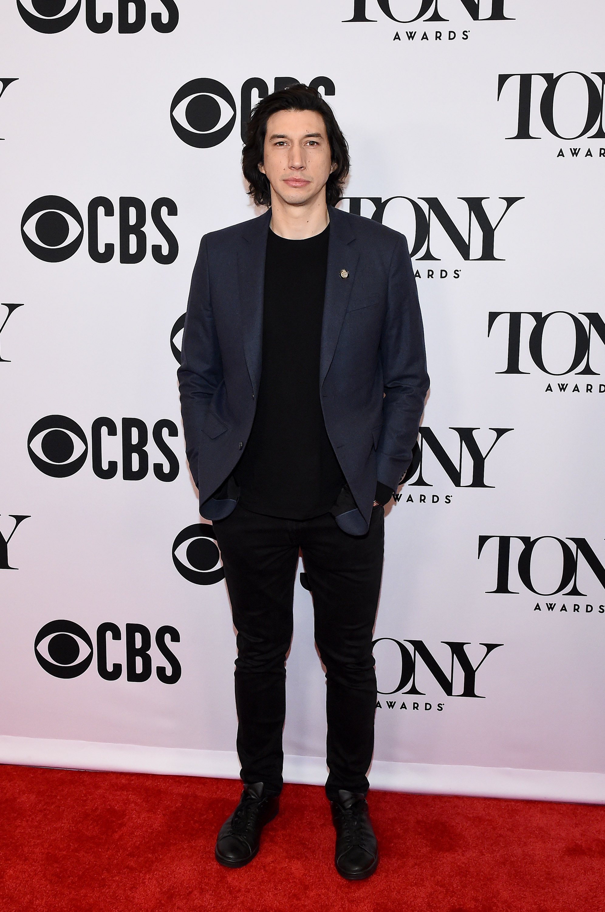 NEW YORK, NEW YORK - MAY 01: Adam Driver attends The 73rd Annual Tony Awards Meet The Nominees Press Day at Sofitel New York on May 01, 2019 in New York City. (Photo by