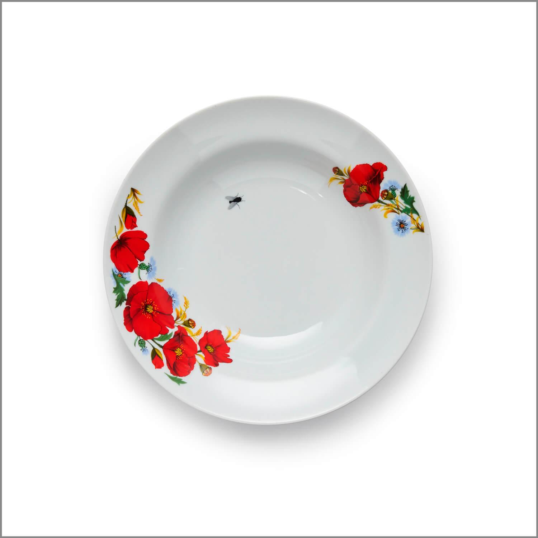 Тарелка суповая «Сонная муха»