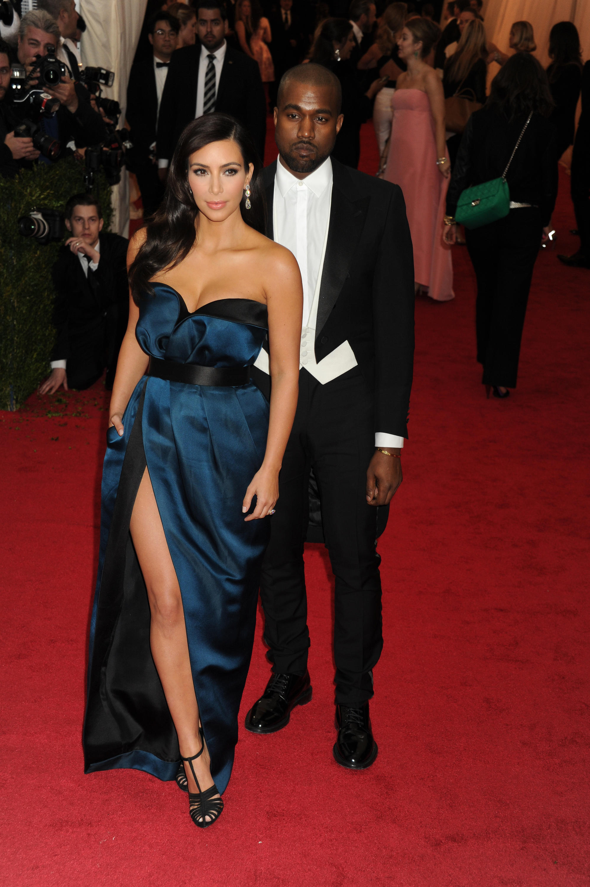 NEW YORK, NY - MAY 05: Kim Kardashian_Kanye West Attends The 'Charles James: Beyond Fashion' Costume Institute Gala At The Metropolitan Museum Of Art On May 5, 2014 In New York City. People: Kim Kardashian_Kanye West КРЕДИТ