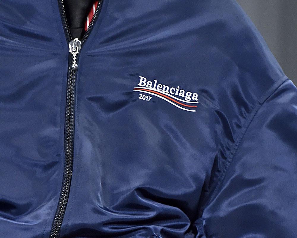 Balenciaga Menswear осень-зима 2017