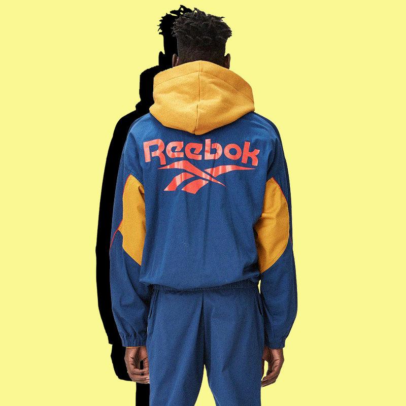 Спортивный костюм Reebok by Pyer Moss (ветровка ибрюки), $370