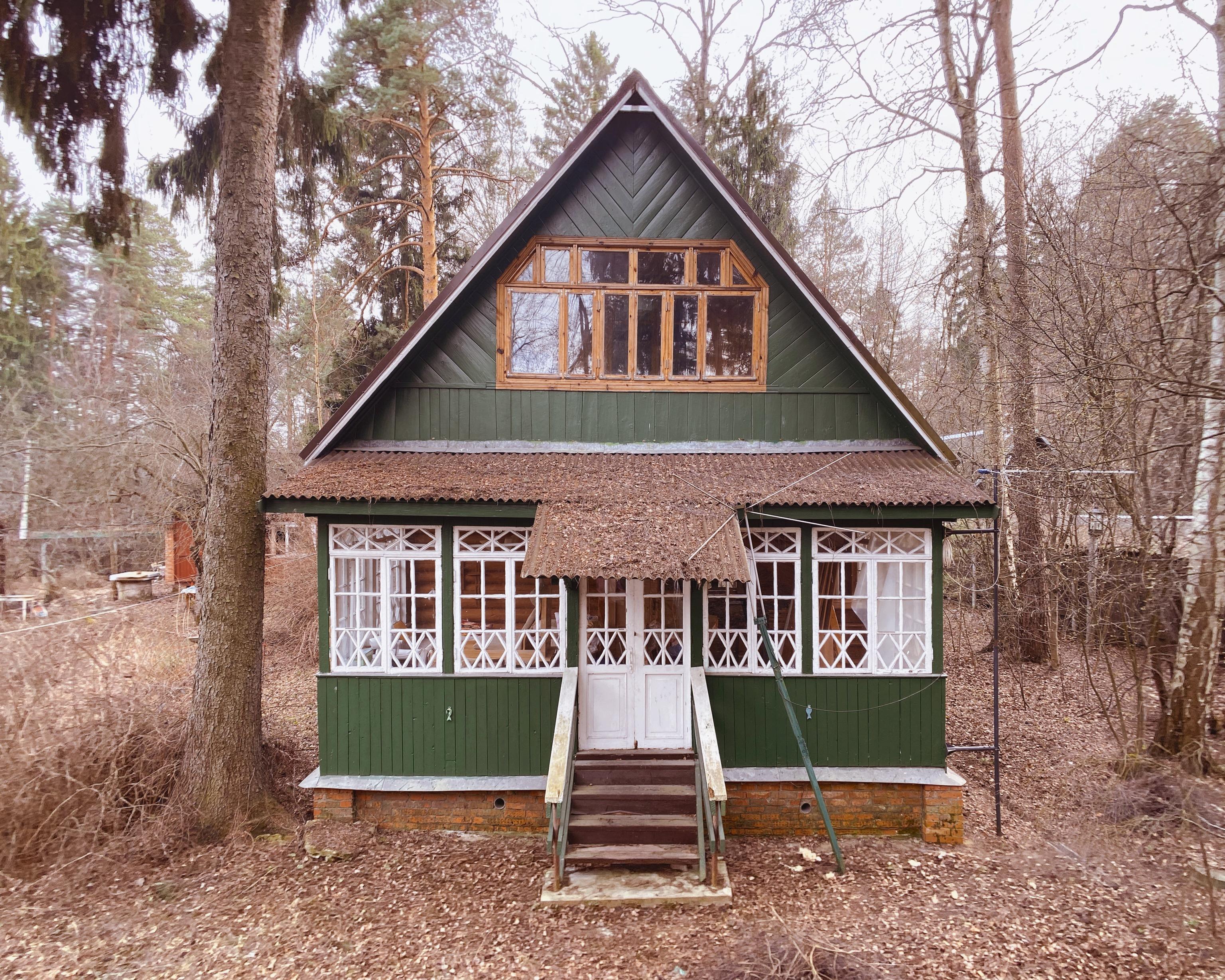 Дом, построенный в1938 году прадедом Савинцева Анатолием Долгиновым.