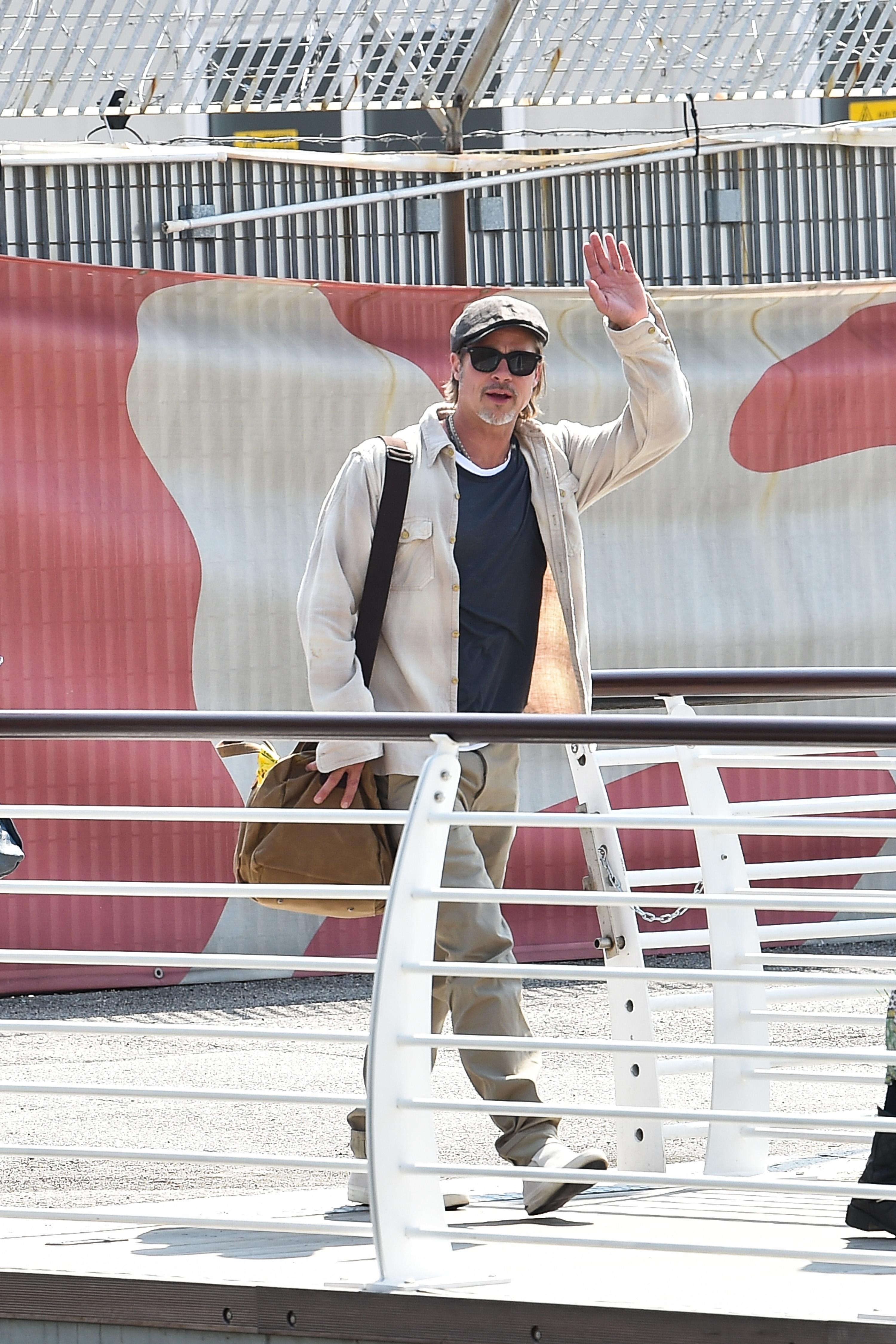 В Венеции во время Венецианского кинофестиваля, август 2019