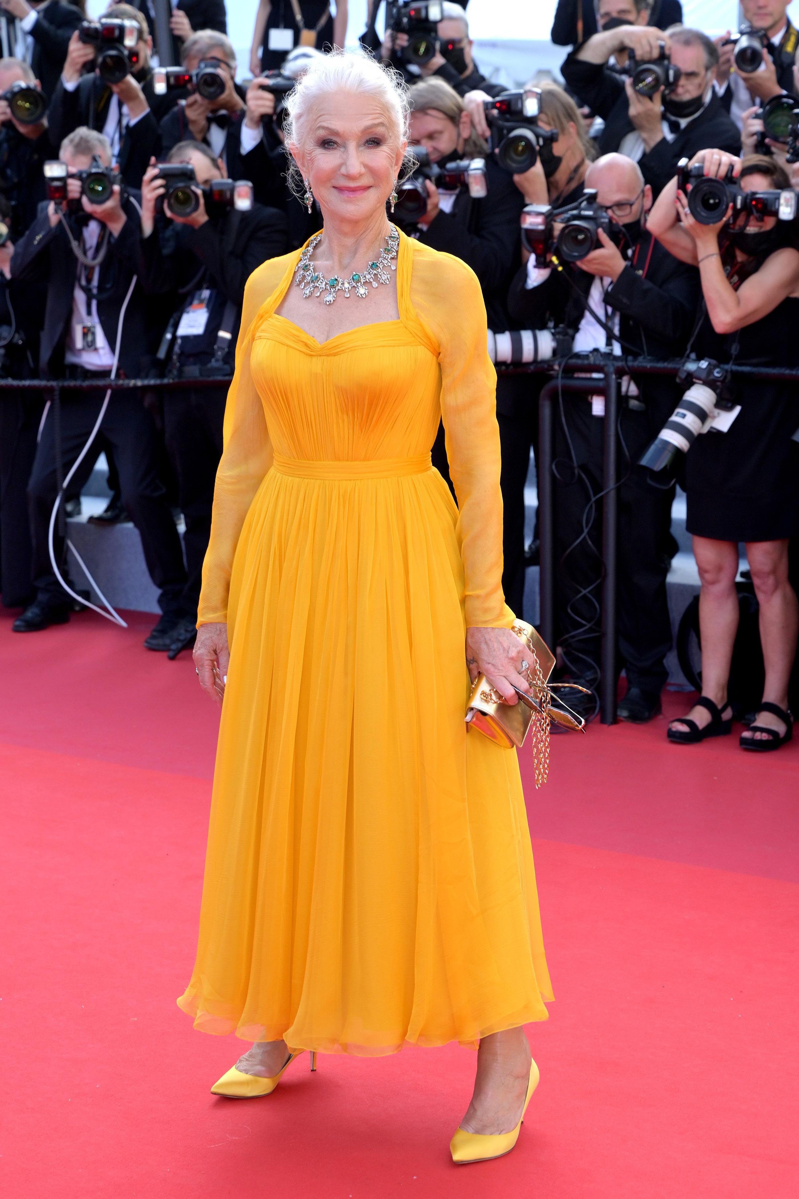 Хелен Миррен вDolce & Gabbana