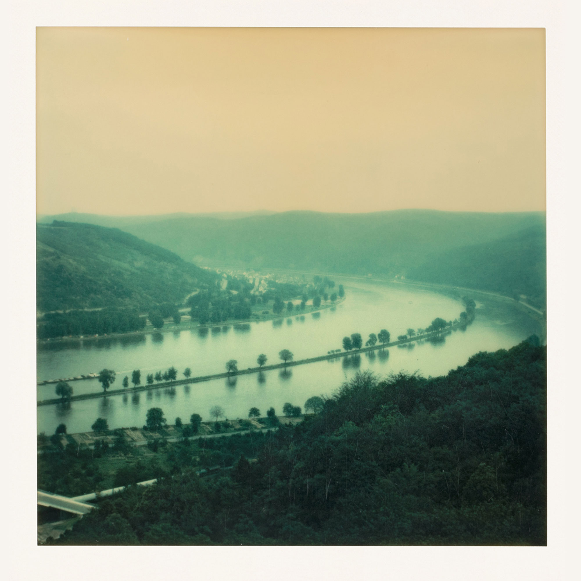 Река Рейн, Бонн, Германия, 1974 год
