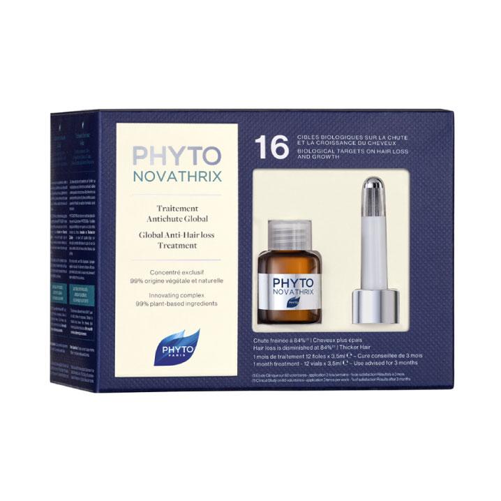 Ампулы против выпадения волос Phyto Novathrix, Phyto