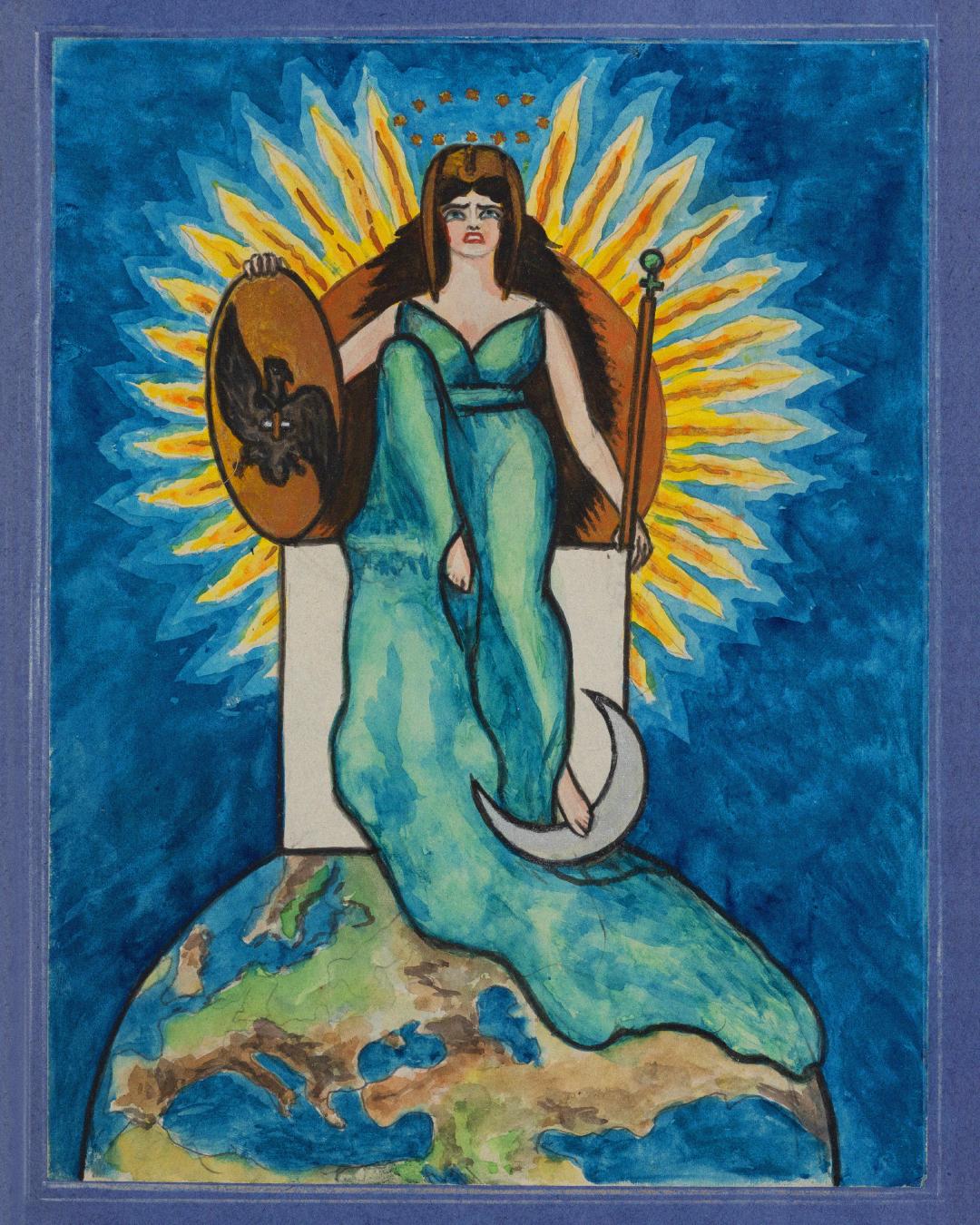 Коллекция «Идеограммы мажорных арканов таро» изсобрания Государственного музея истории религии.