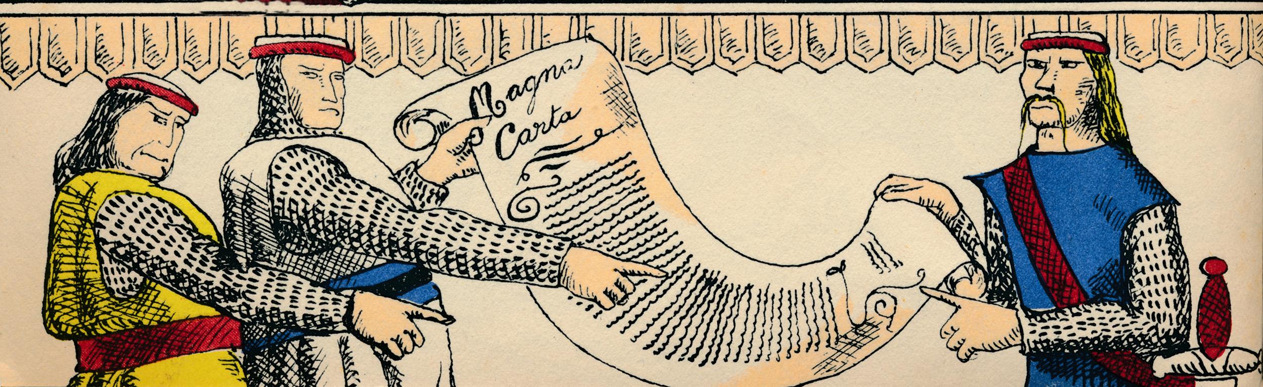 Бароны сВеликой хартией вольностей в1199 году