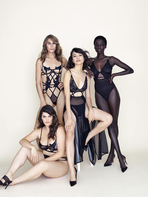 Кампания совместной коллекции Victoria's Secret иBluebella