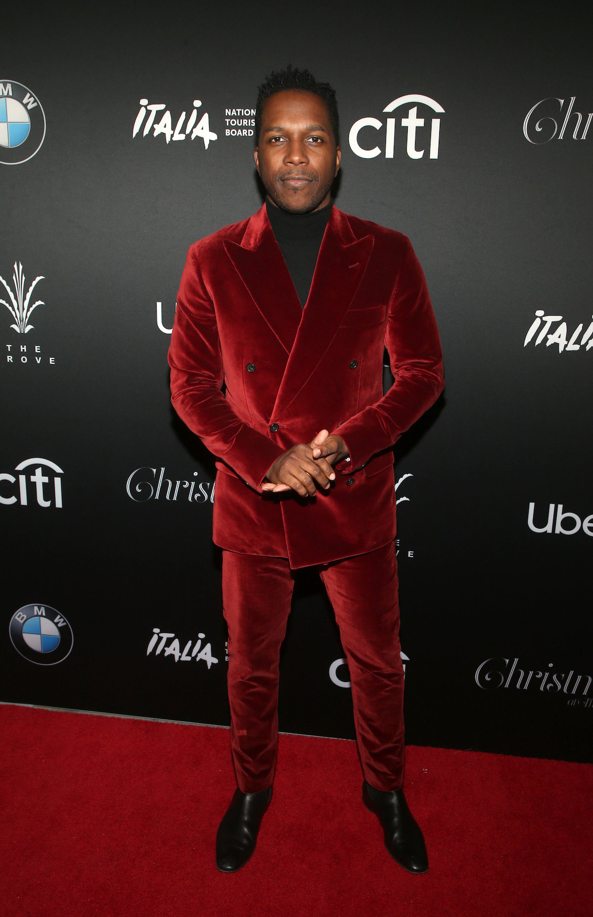 Leslie Odom Jr, At Christmas At The Grove At The Grove In Los Angeles, California On November 17, 2019.