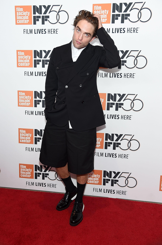 Роберт Паттинсон вDior Homme наНью-йоркском кинофестивале
