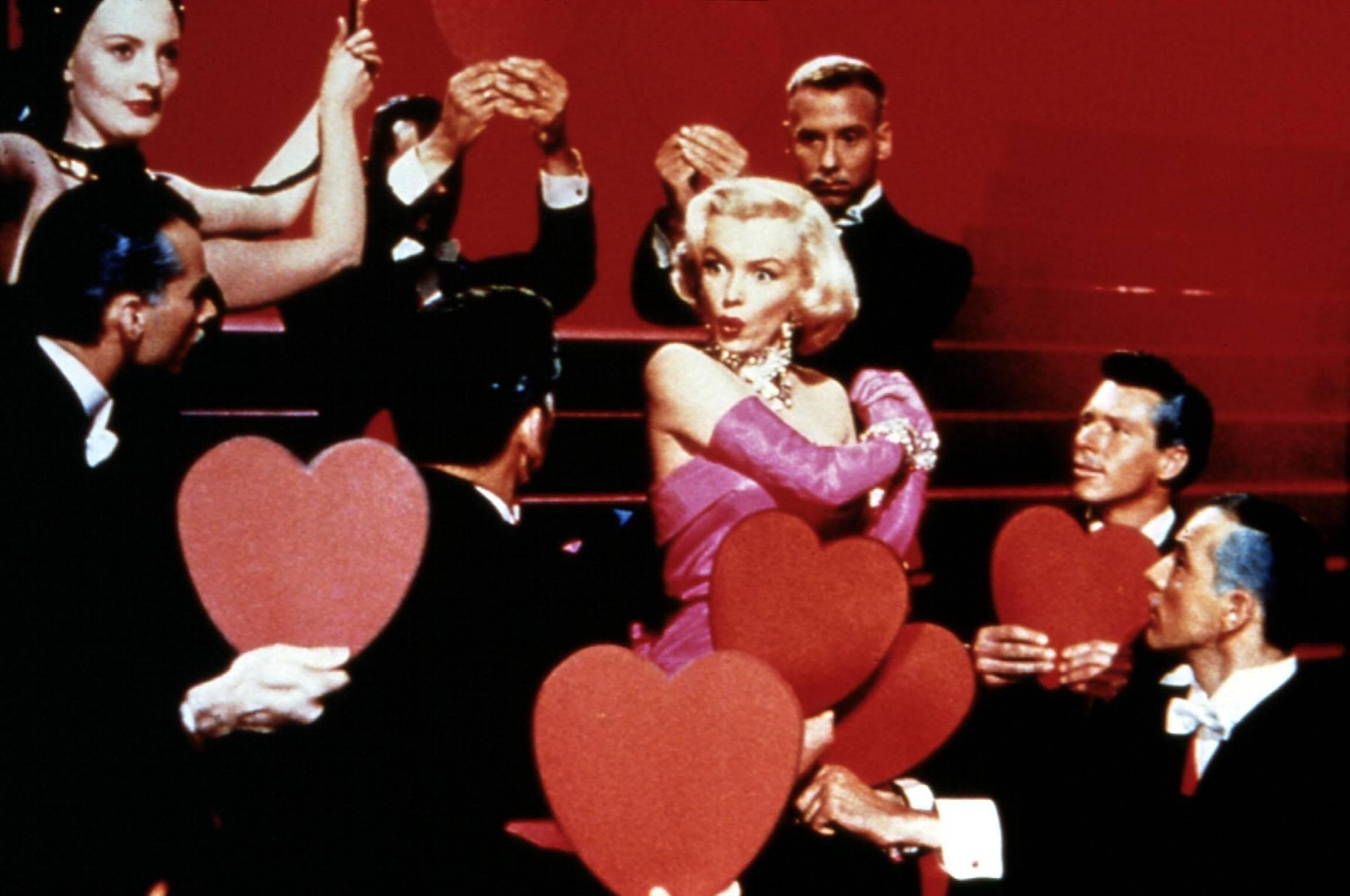 Джентльмени віддають перевагу блондинкам Мерилін Монро фільм