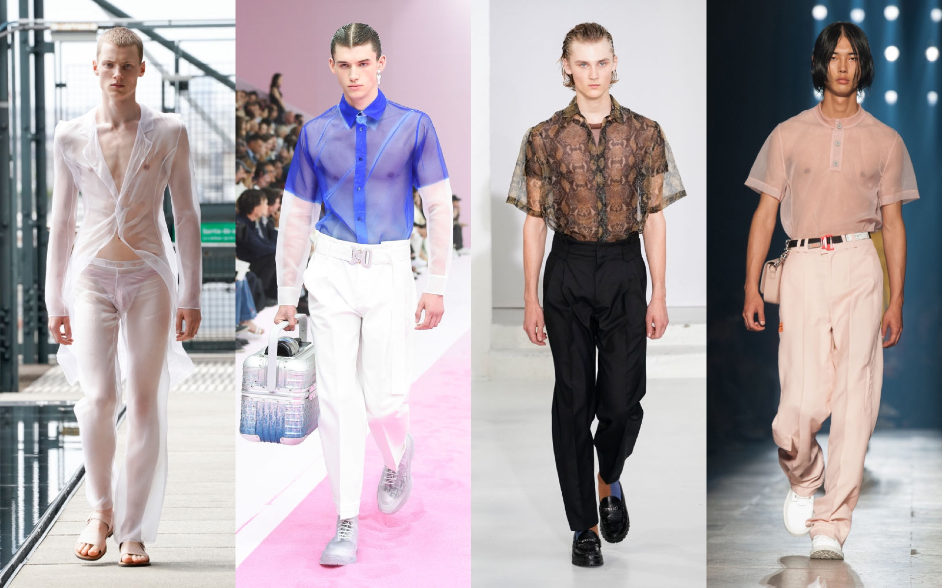 Ludovic de Saint Sernin, Dior, Angus Chiang, Heron Preston, весна–лето 2020