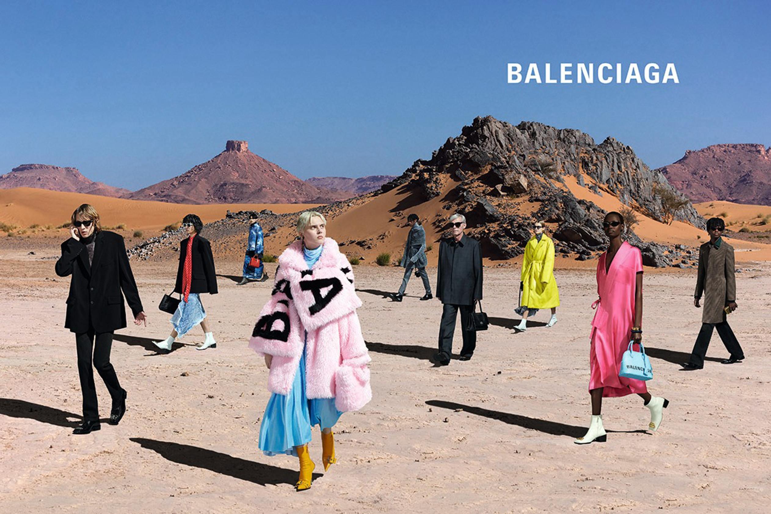 Кампания Balenciaga весна-лето 2019