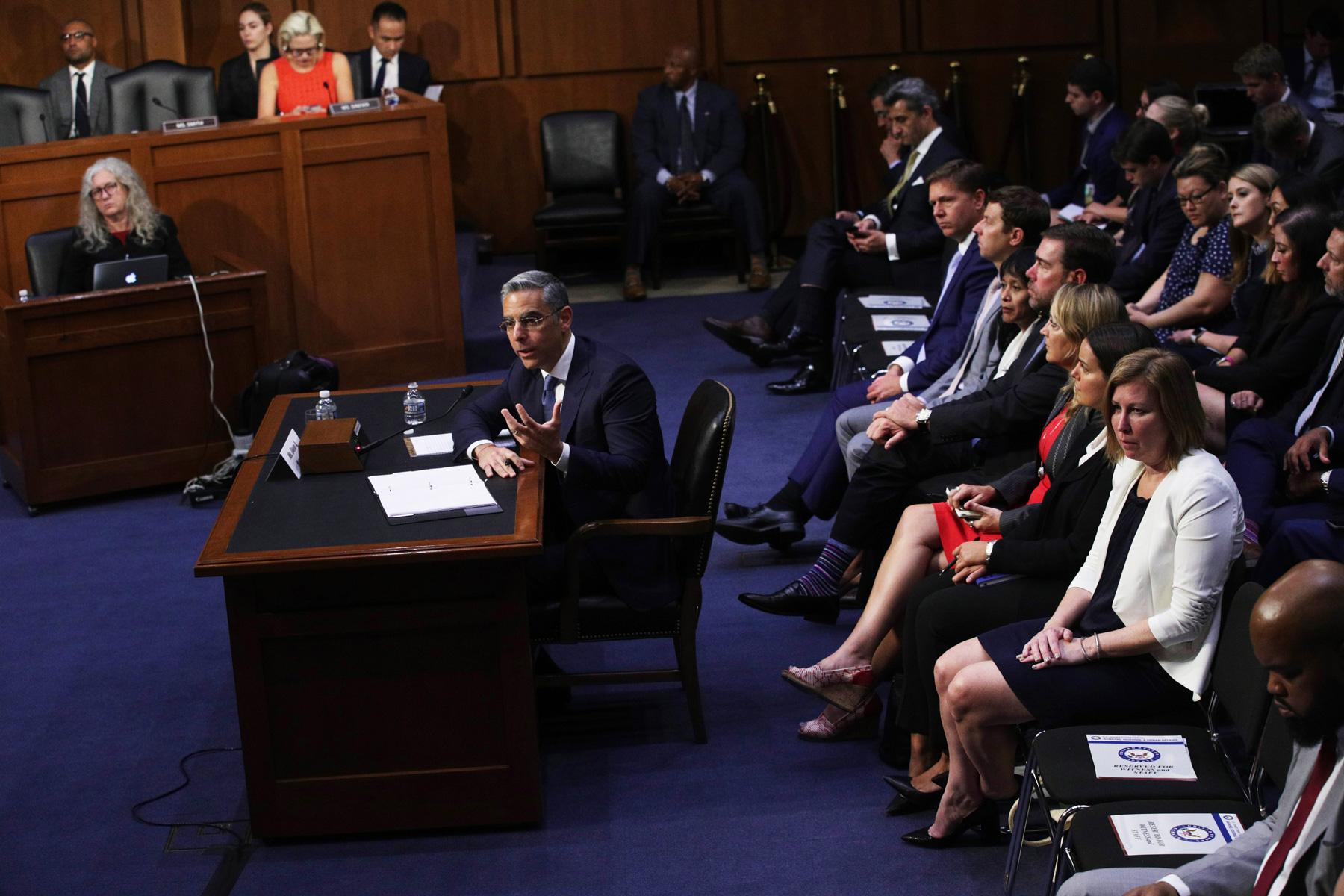 Глава Libra Дэвид Маркус выступает вСенате США
