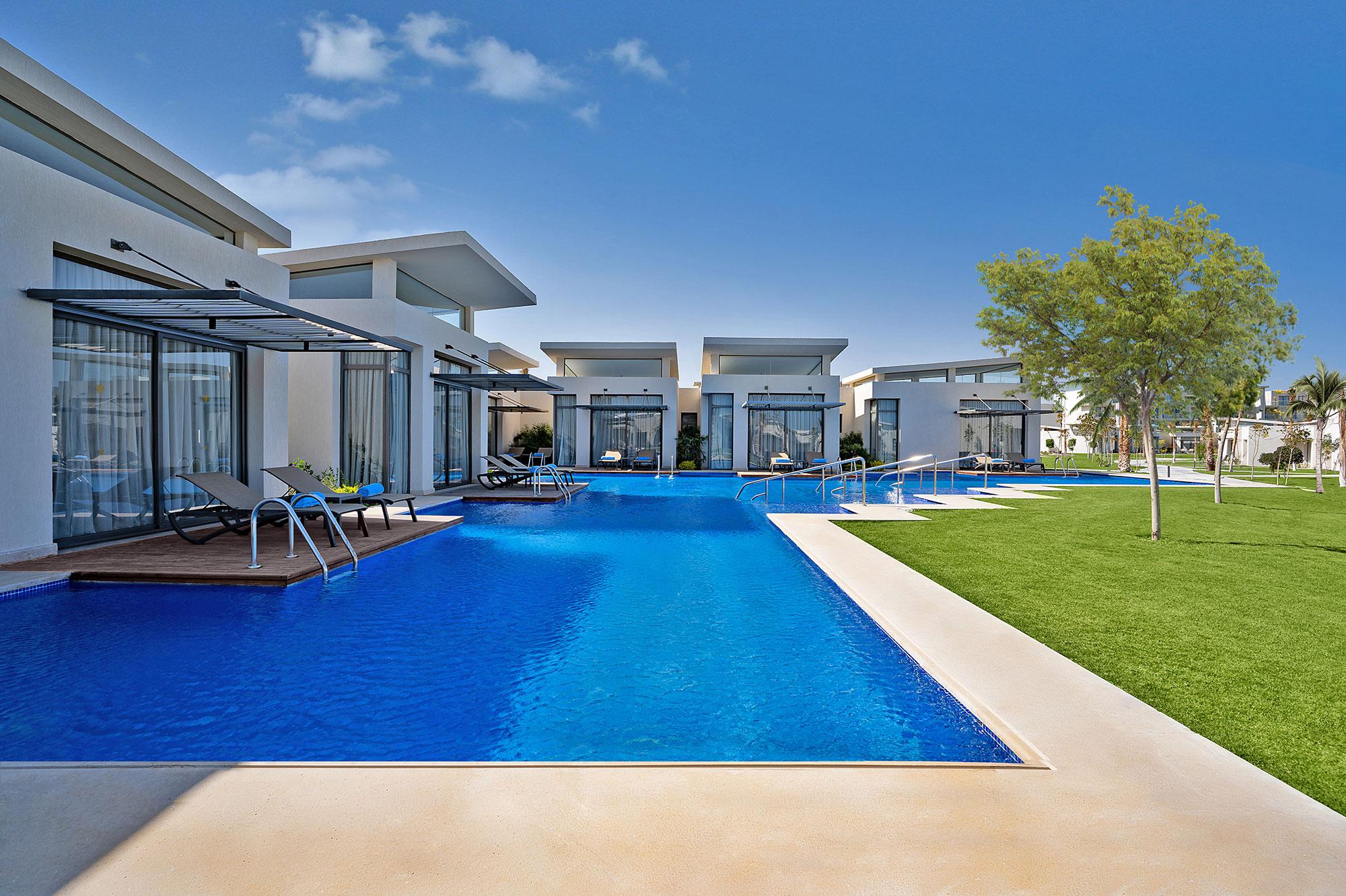 Вилла сбассейном вRixos Premium Magawish Suites & Villas