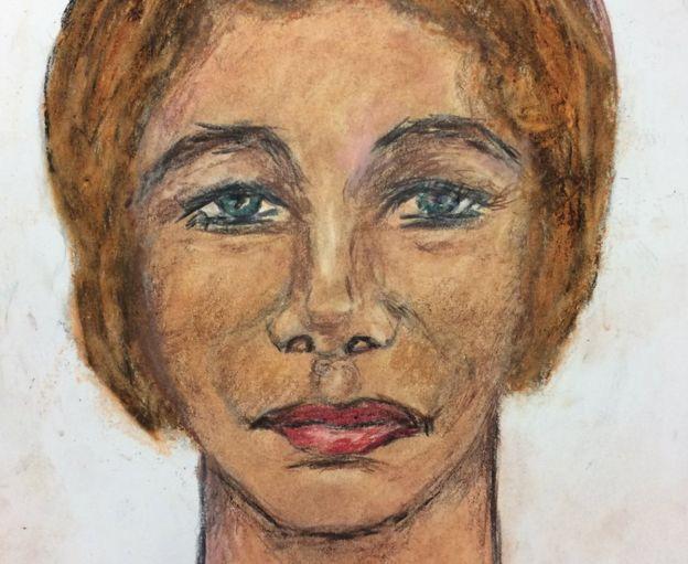 Белая женщина, убита в1984. Убийца встретил жертву вКолумбусе, Огайо. Тело наши врайоне северного Кентуки.