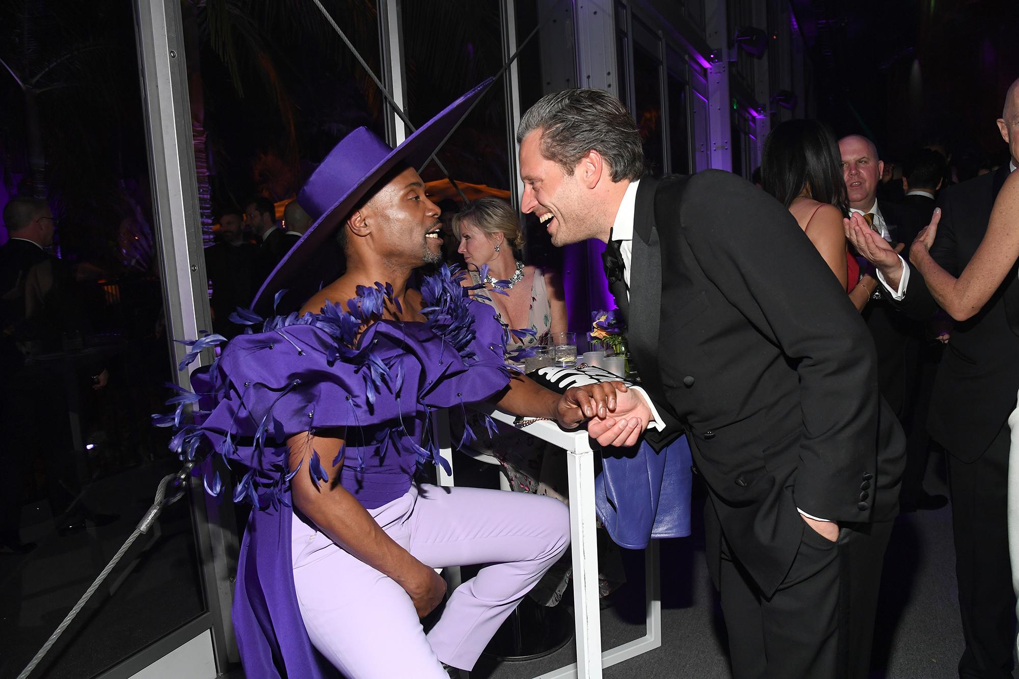 Всегда нарядный Билли Портер навечернке Vanity Fair.