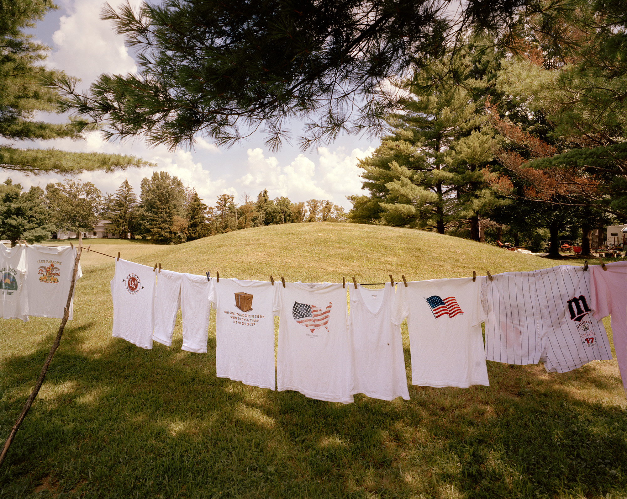 Laundry, Indian Mound Campground, New Marshfield, OH