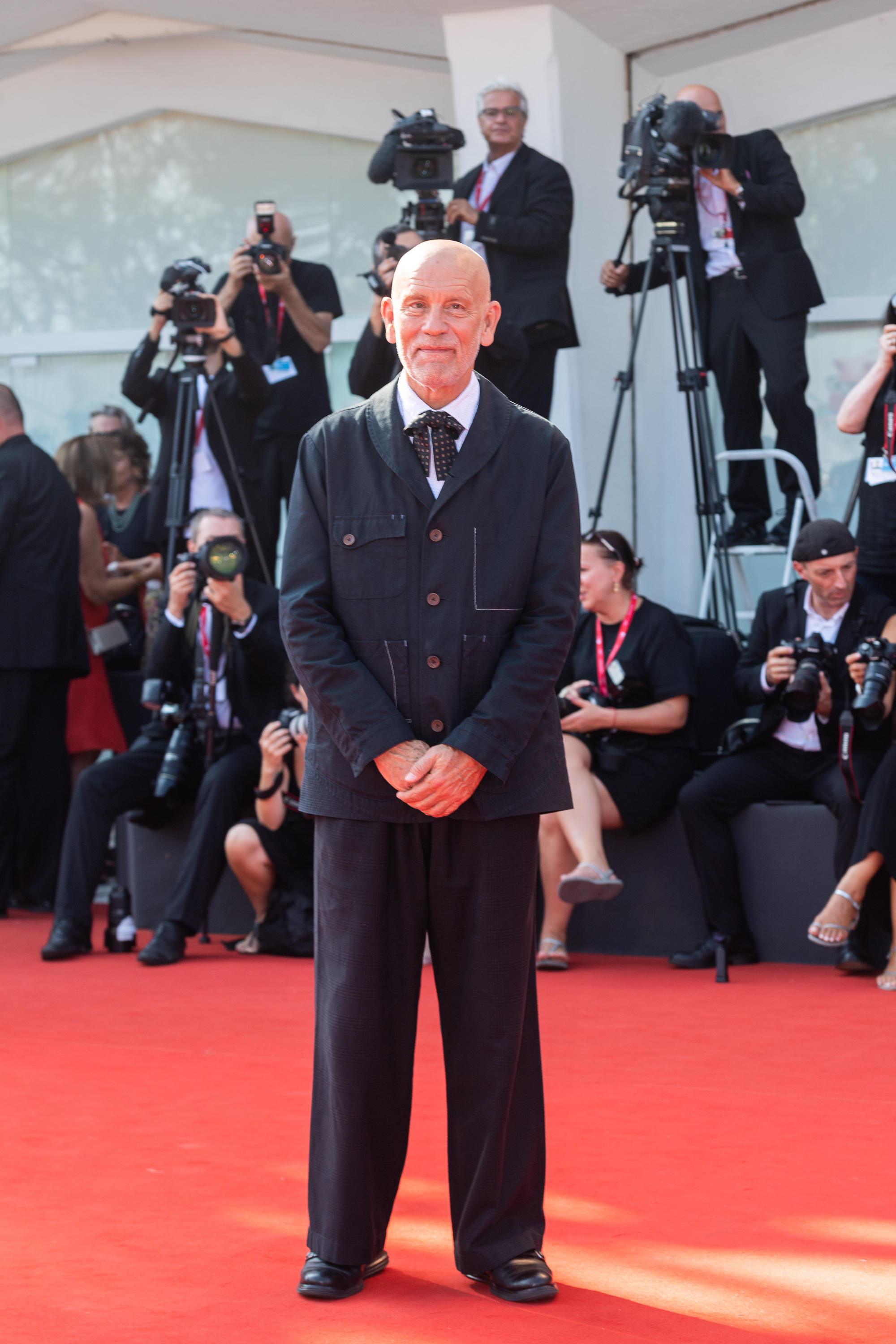 VENICE, Italy. 01st Sep, 2019. John Malkovich Attends The Red Carpet For The World Premiere Of The New Pope During The 76th Venice Film Festival At Palazzo Del Cinema On September 01, 2019 In Venice, Italy. КРЕДИТ