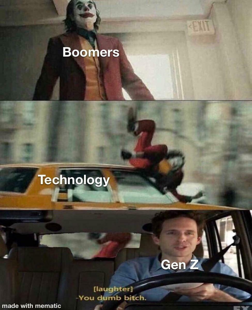Бумеры / Технологии / Поколение Z