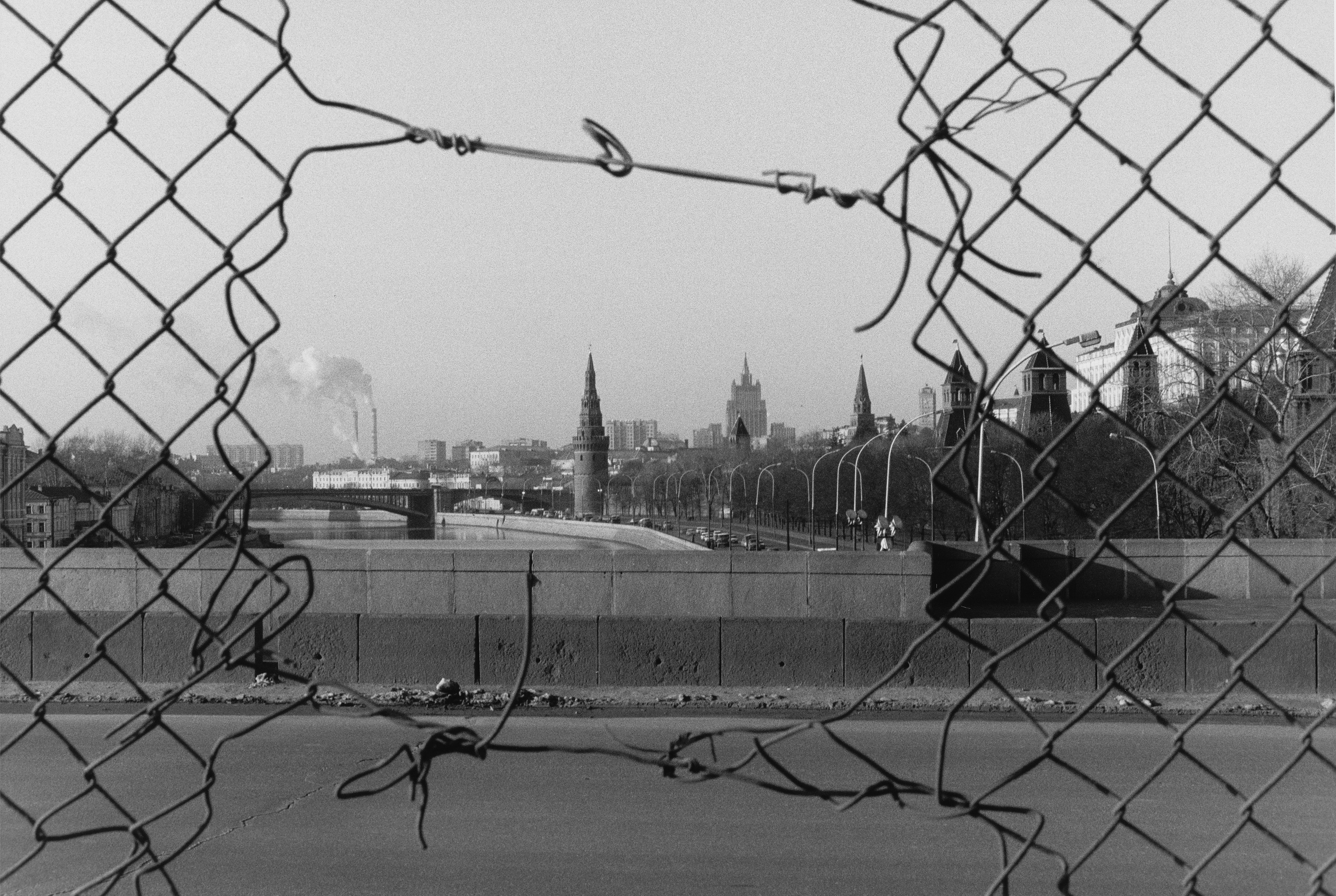 Игорь Мухин. Москва, 1992. Авторизованный серебряно-желатиновый отпечаток.