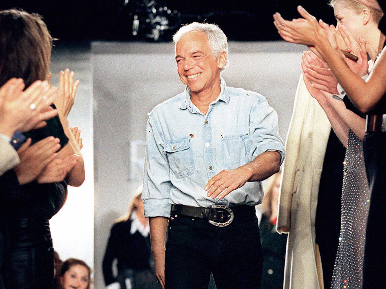 Ральф Лорен напоказе Ralph Lauren осень-зима 1997