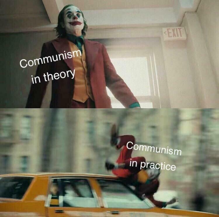 Коммунизм втеории — коммунизм напрактике