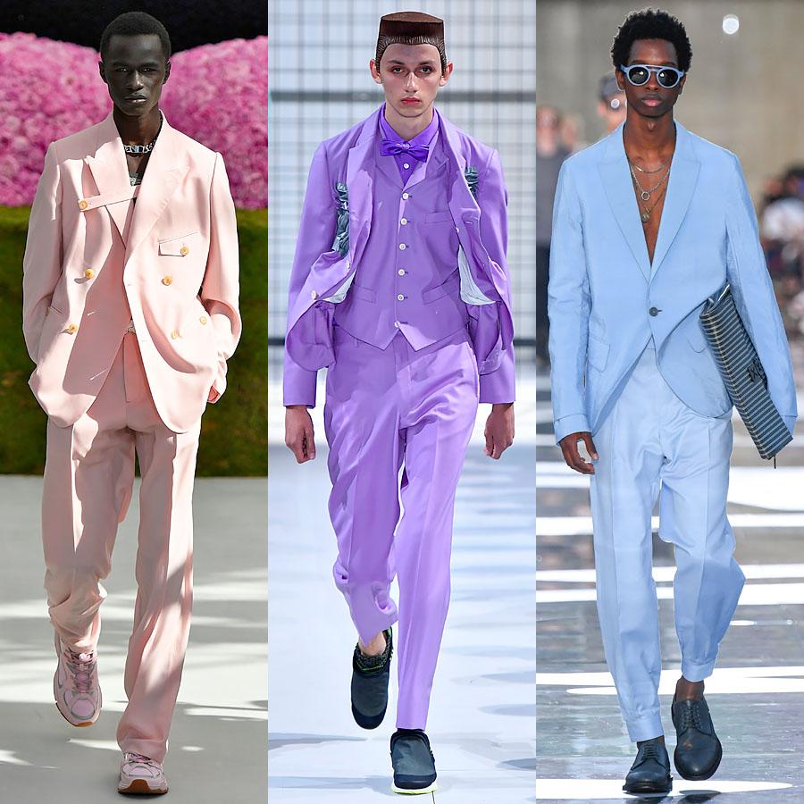 Dior Homme, Comme Des Garcons, Ermenegildo Zegna весна-лето 2019
