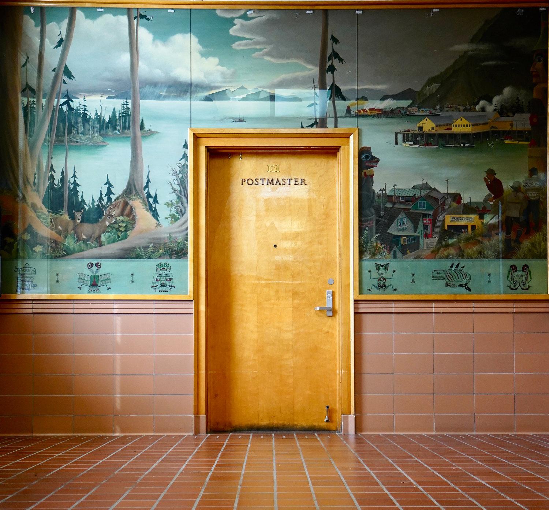 Почтовое отделение наАляске, США