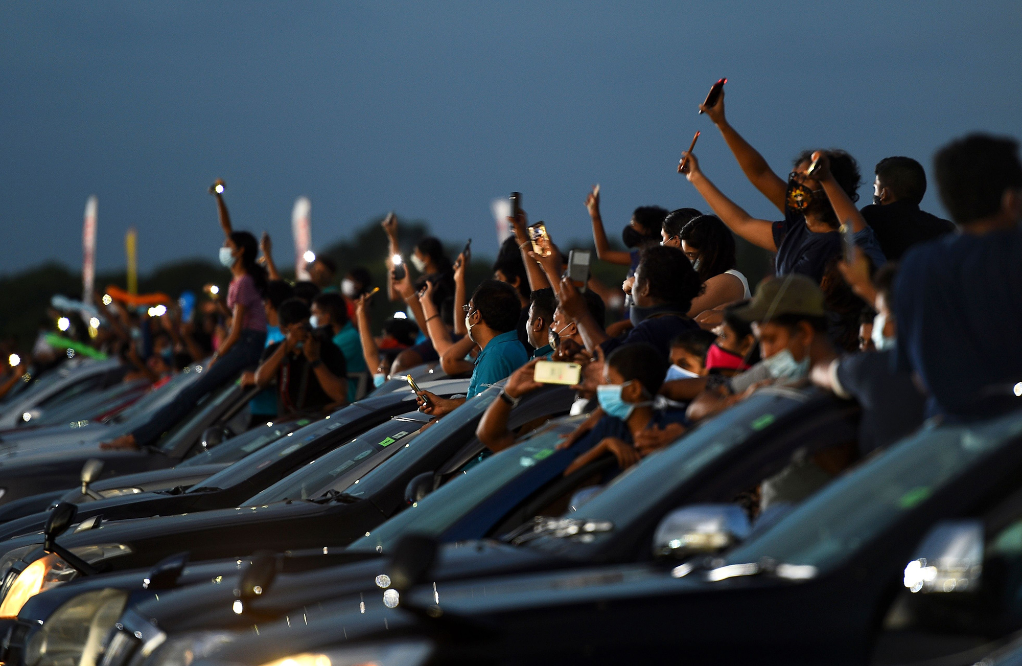 Концерт вКоломбо, Шри-Ланка, вусловиях пандемической реальности.