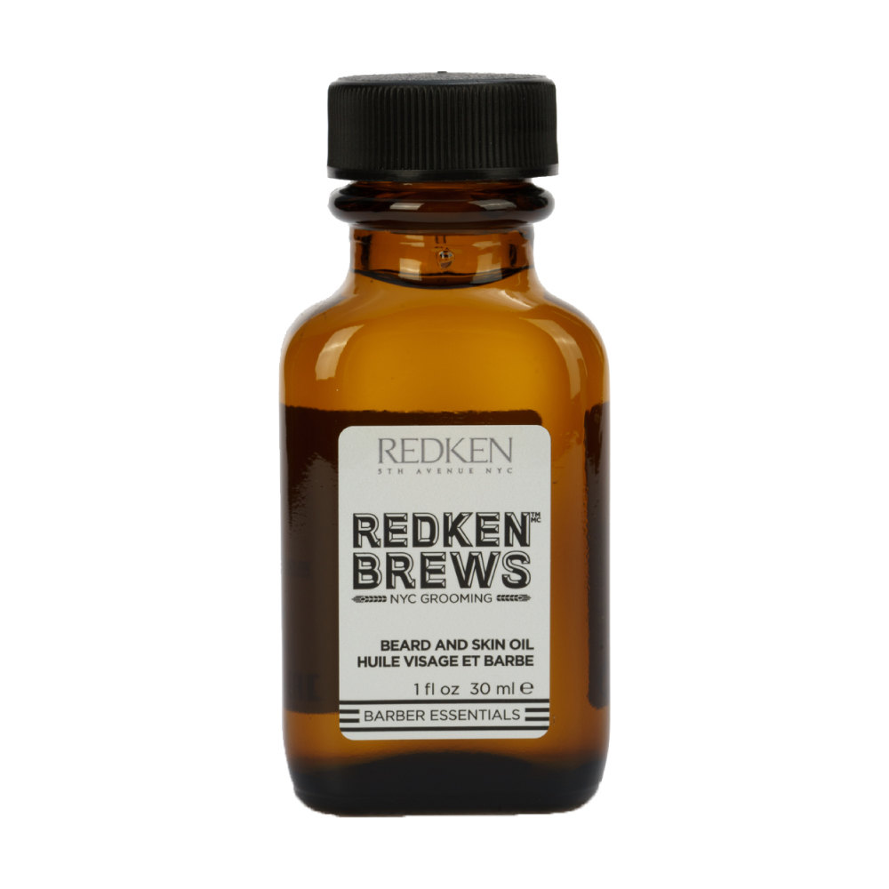 Масло для бороды Beard and Skin Oil, Redken Brews