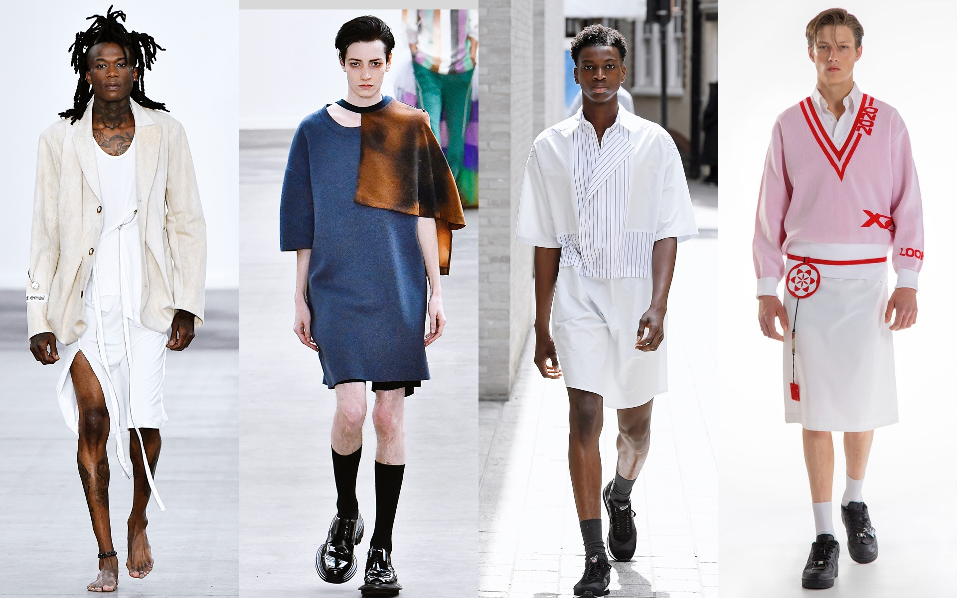 Per Götesson, 8ON8, Chalayan, Xander Zhou, весна–лето 2020