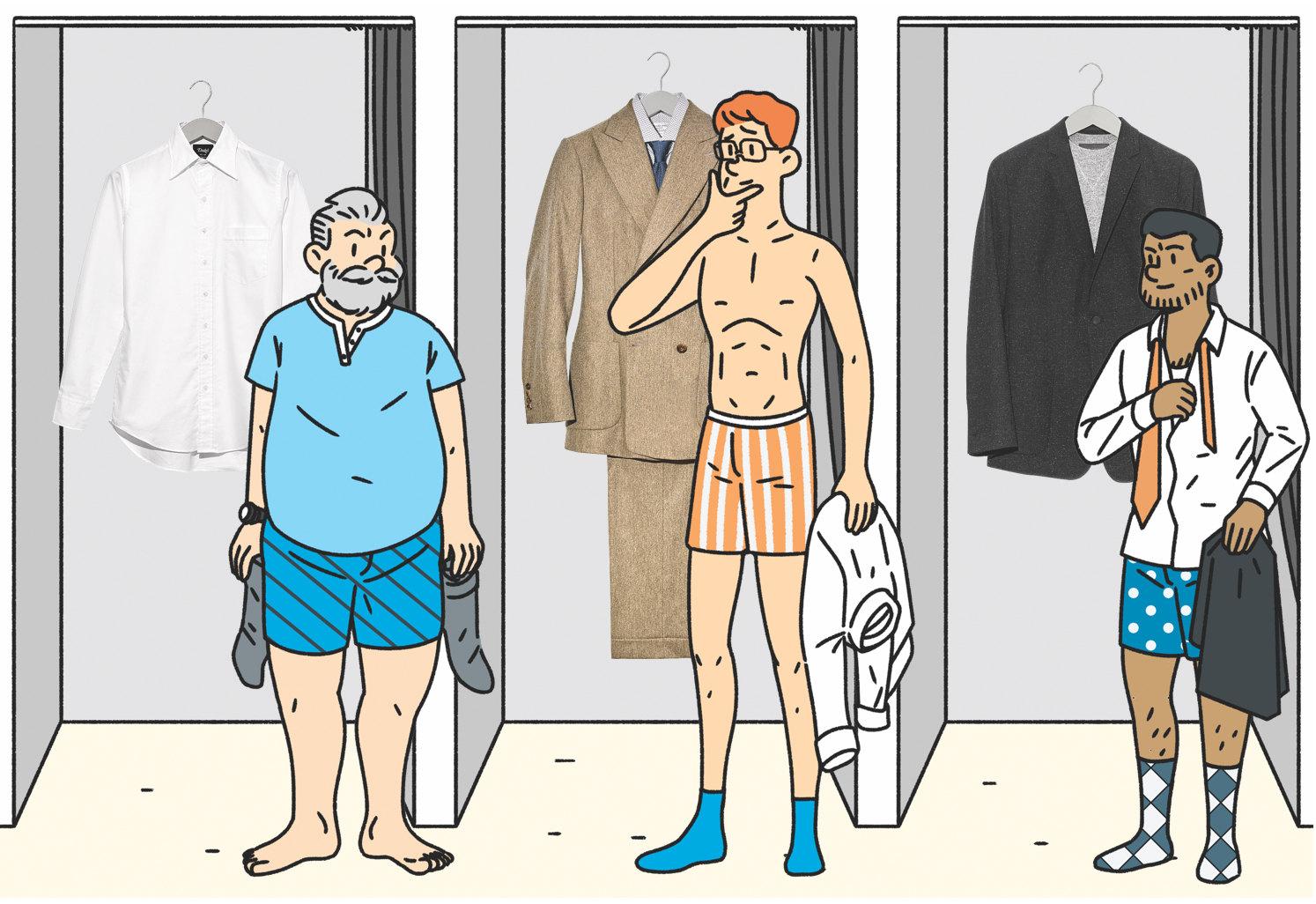 4. Костюм, рубашка, все Richard James, галстук Huntsman  5. Пиджак Kilgour, свитшот Thom Sweeney  6. Костюм, рубашка, галстук, все Daks