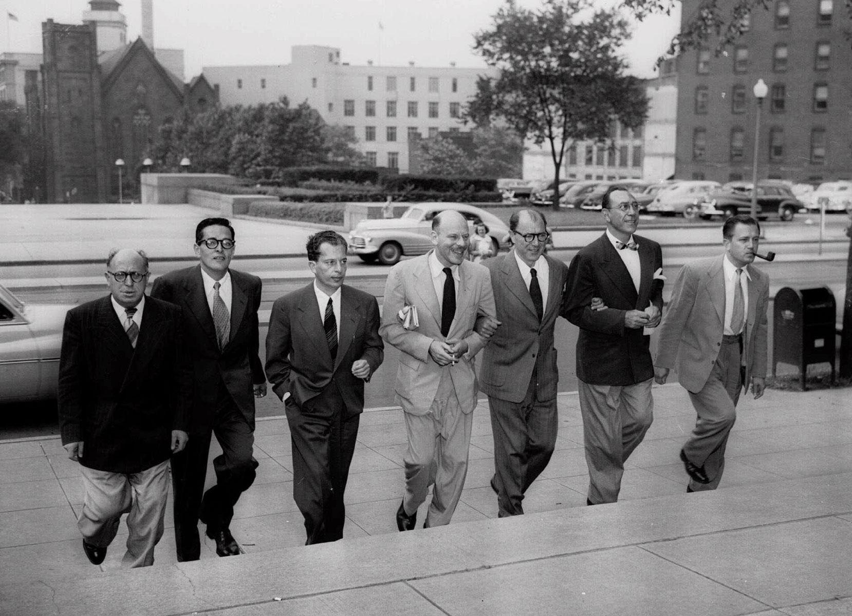 Голливудская десятка (слева направо): Альберт Мальц