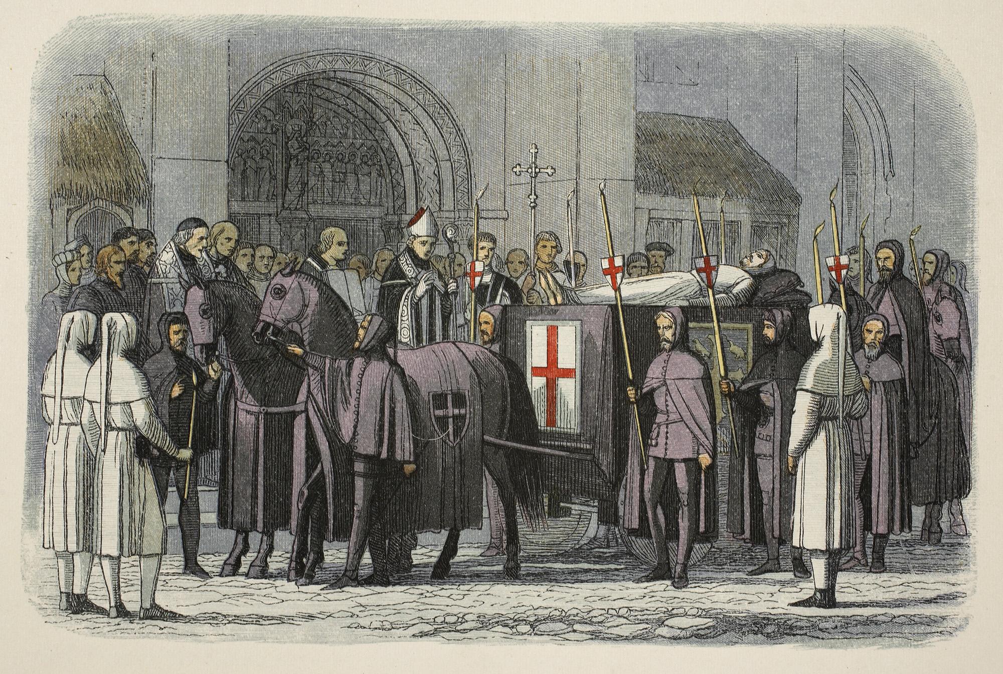 Тело Ричарда II