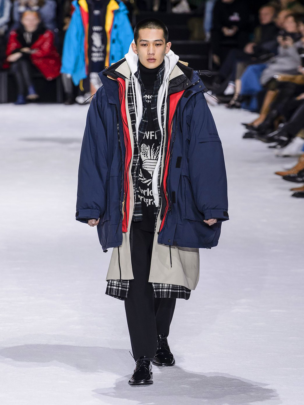 Balenciaga осень-зима 2018