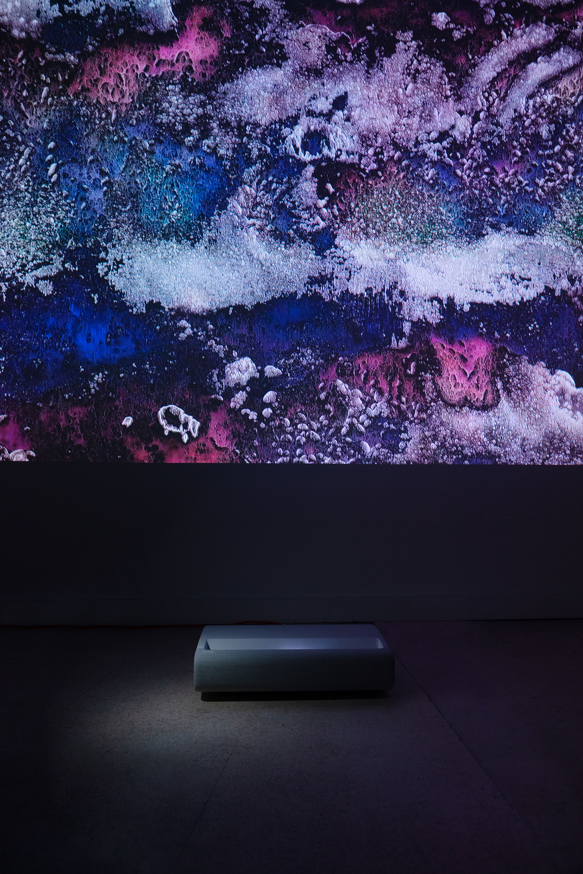 Инсталляция Samsung намеждународной ярмарке Cosmosсow