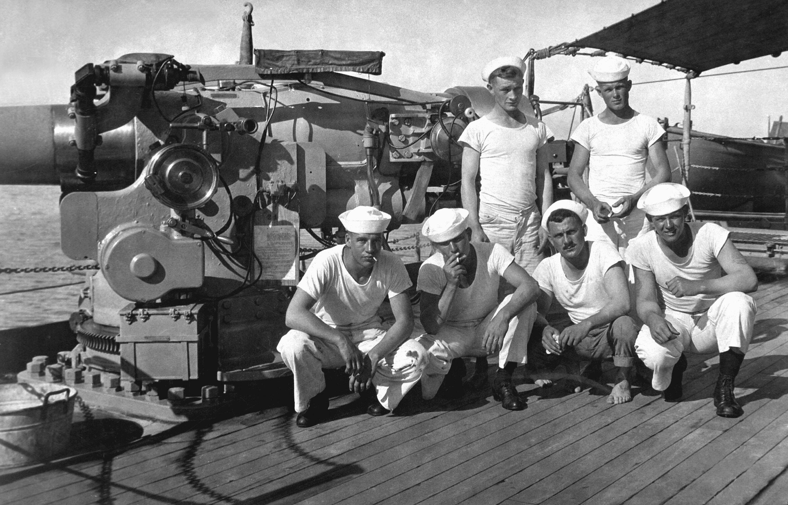 Американские моряки, 1918