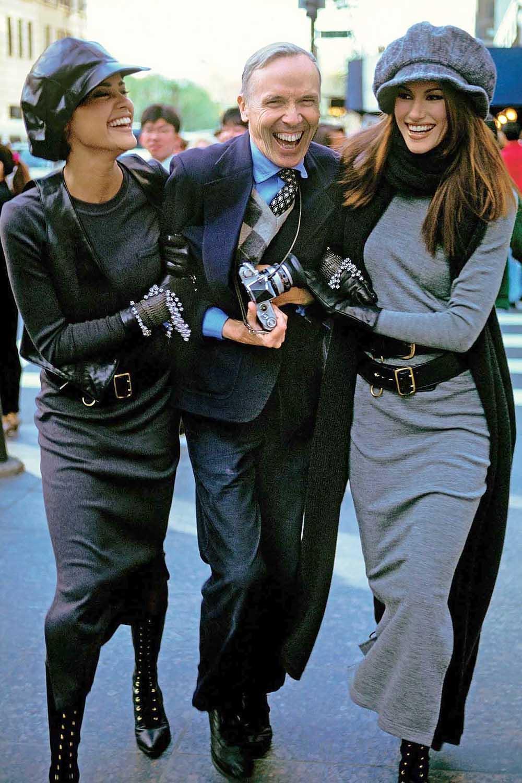 Билл Каннингем смоделями, 1992
