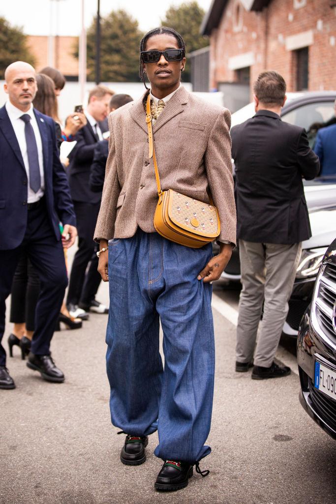 A$AP Rocky нанеделе моды вМилане