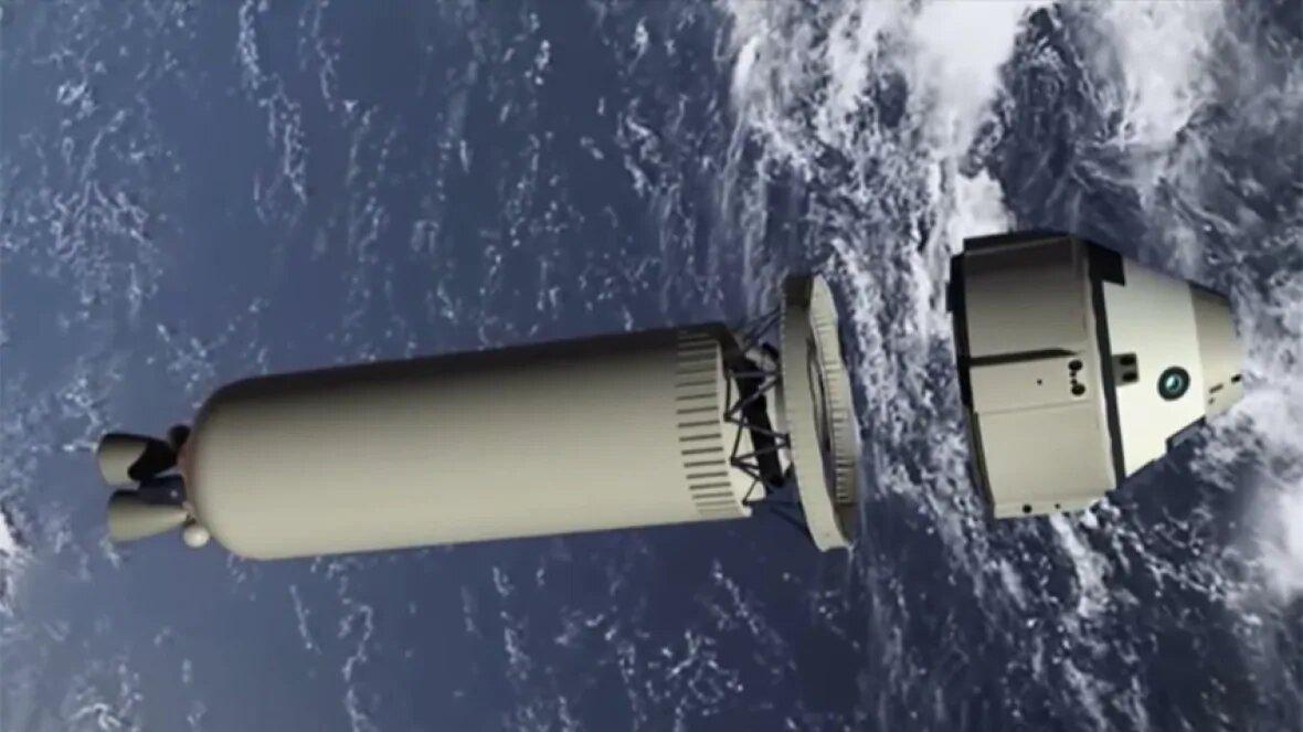 CST-100 Starliner отделяет отракеты Atlas 5, демонстрационный ролик Boeing