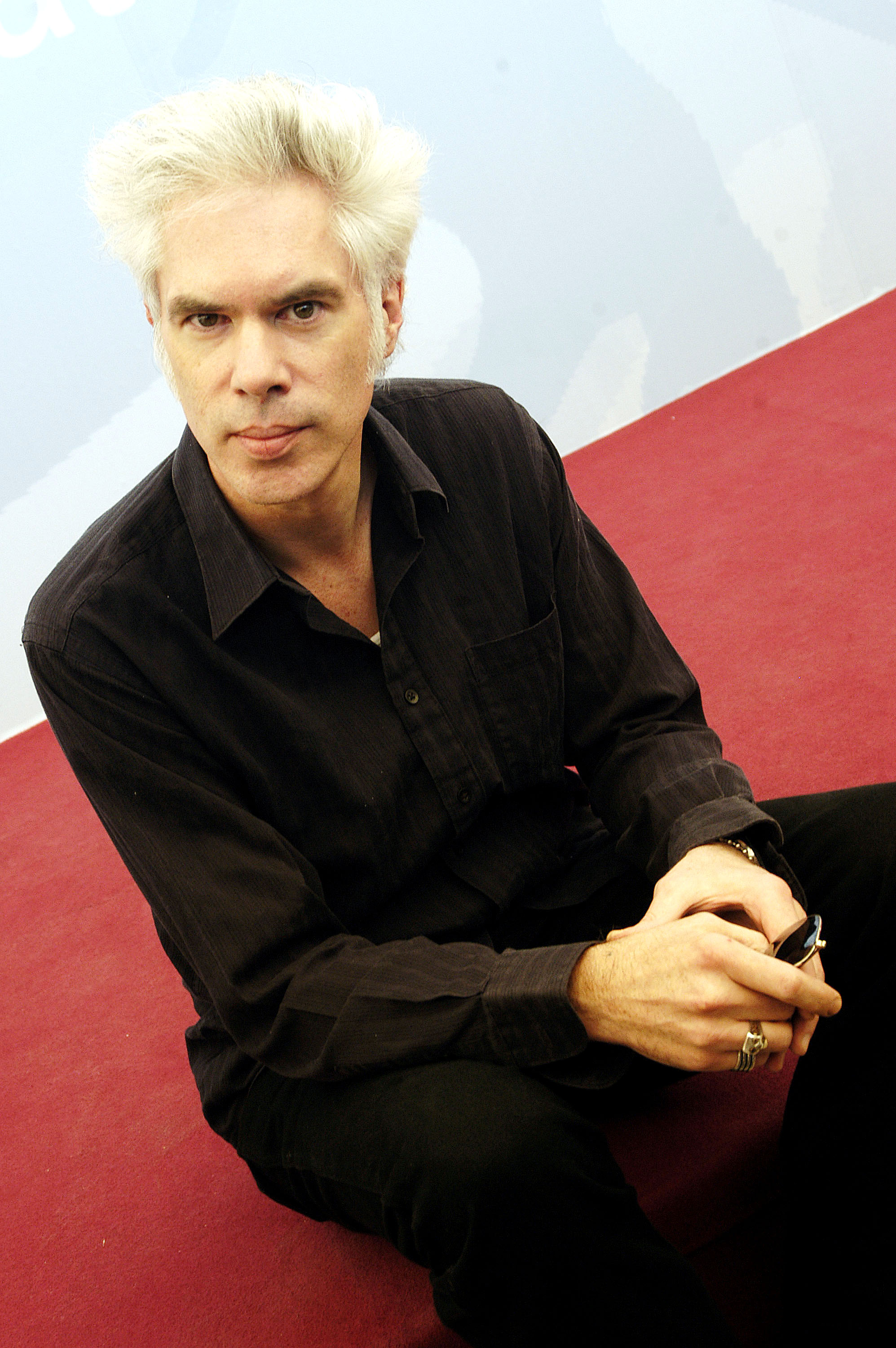 VENICE, ITALY - SEPTEMBER 5: American Director Jim Jarmusch poses during a photocall at the 60th Venice Film Festival September 5, 2003 in Venice, Italy. Jarmusch is presenting his new film