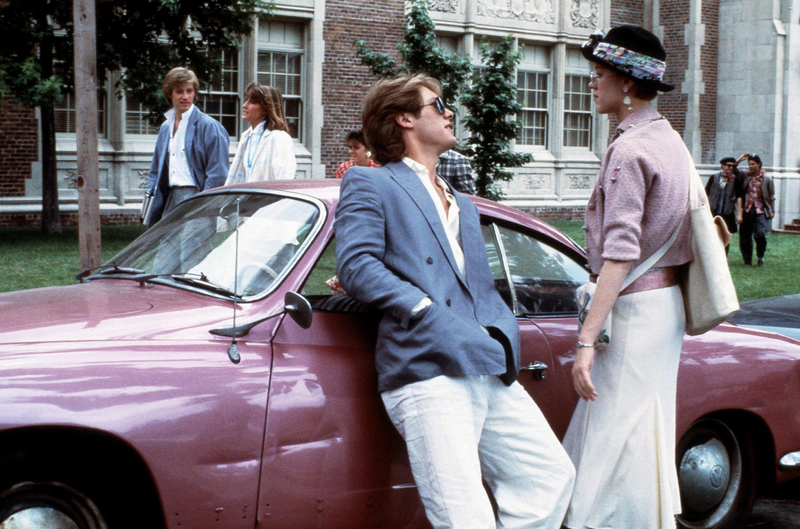 «Девушка врозовом», 1986