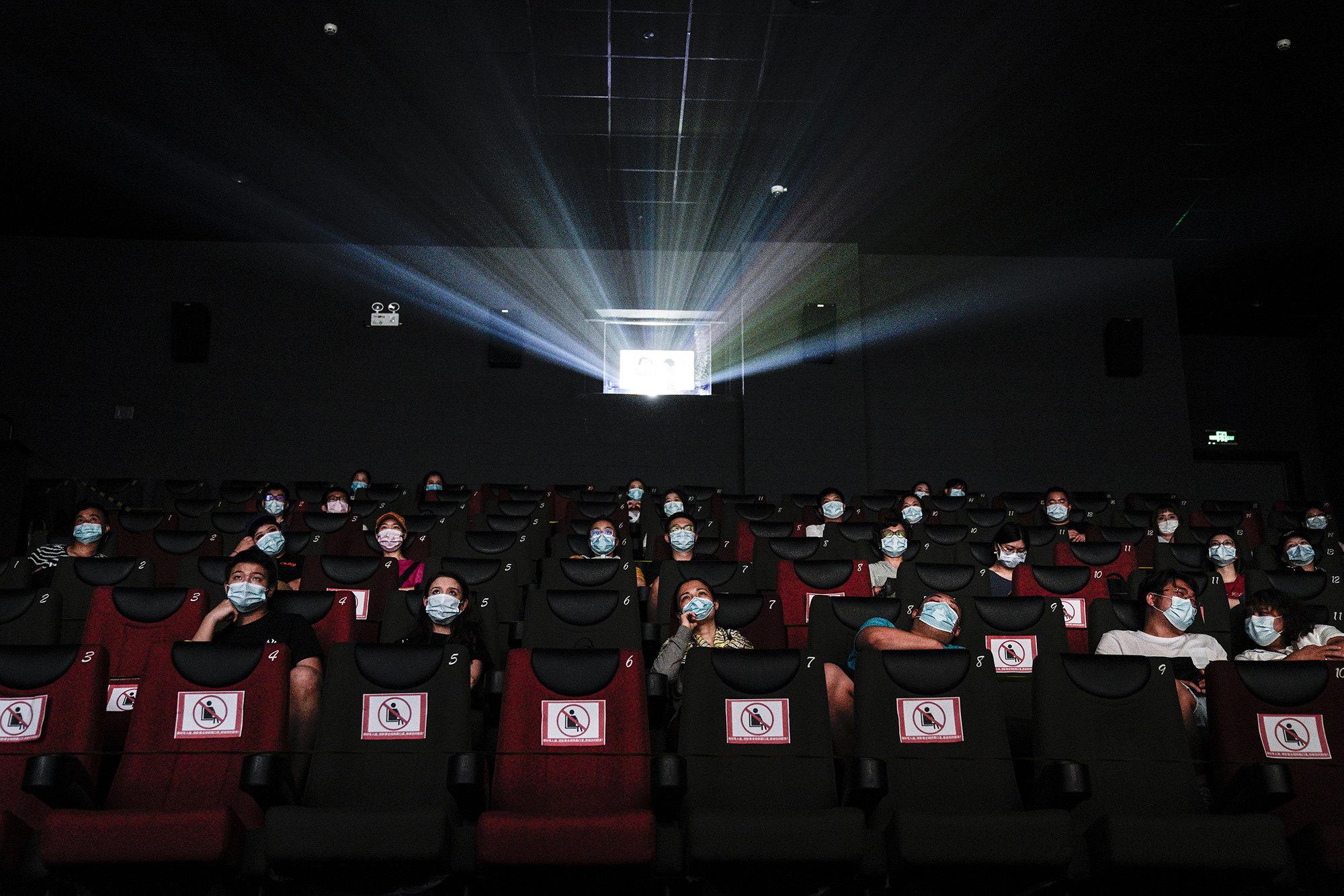 Кинотеатр вУхане.