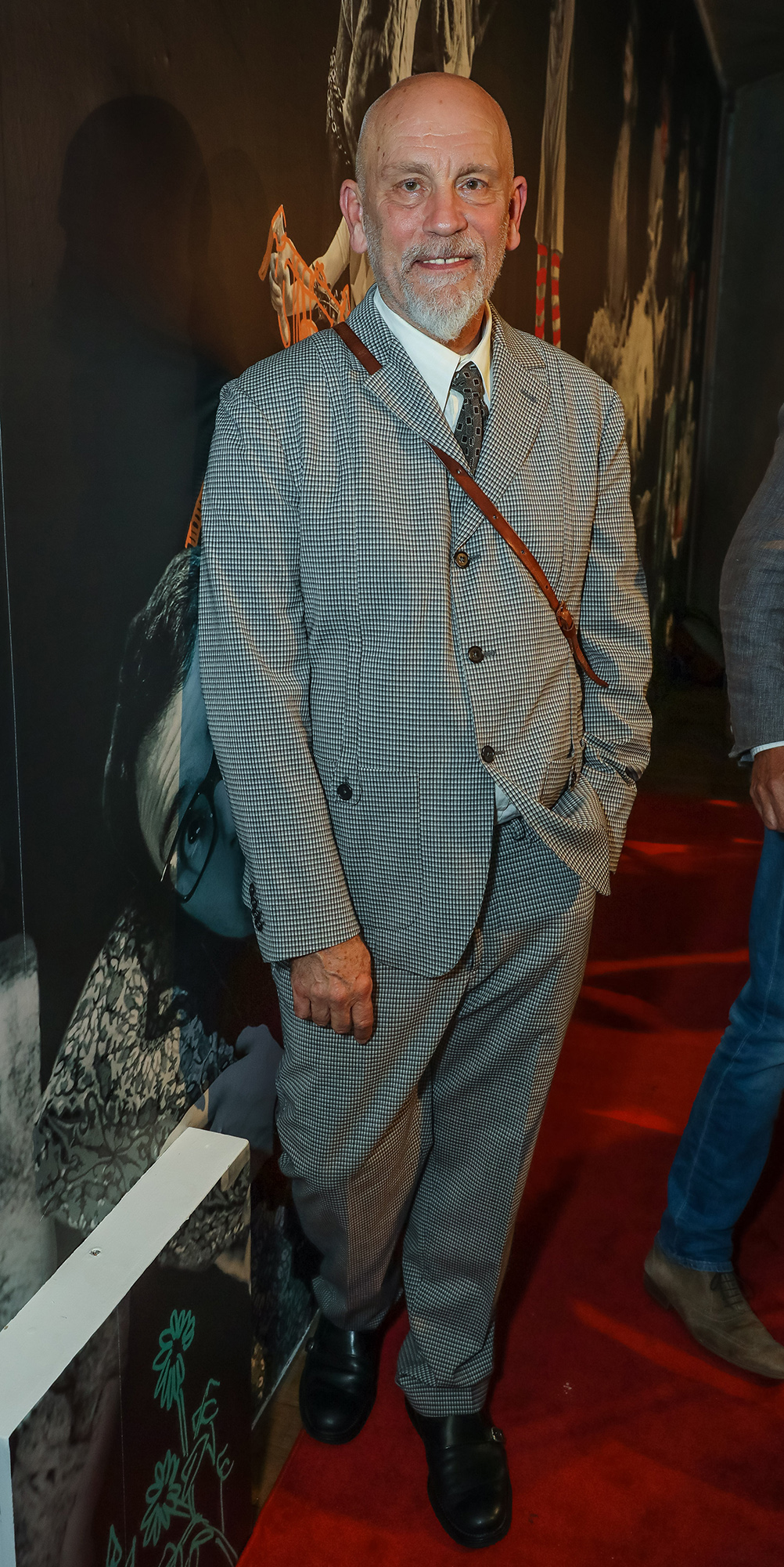 LONDON, ENGLAND - SEPTEMBER 21: John Malkovich attends the press night performance of