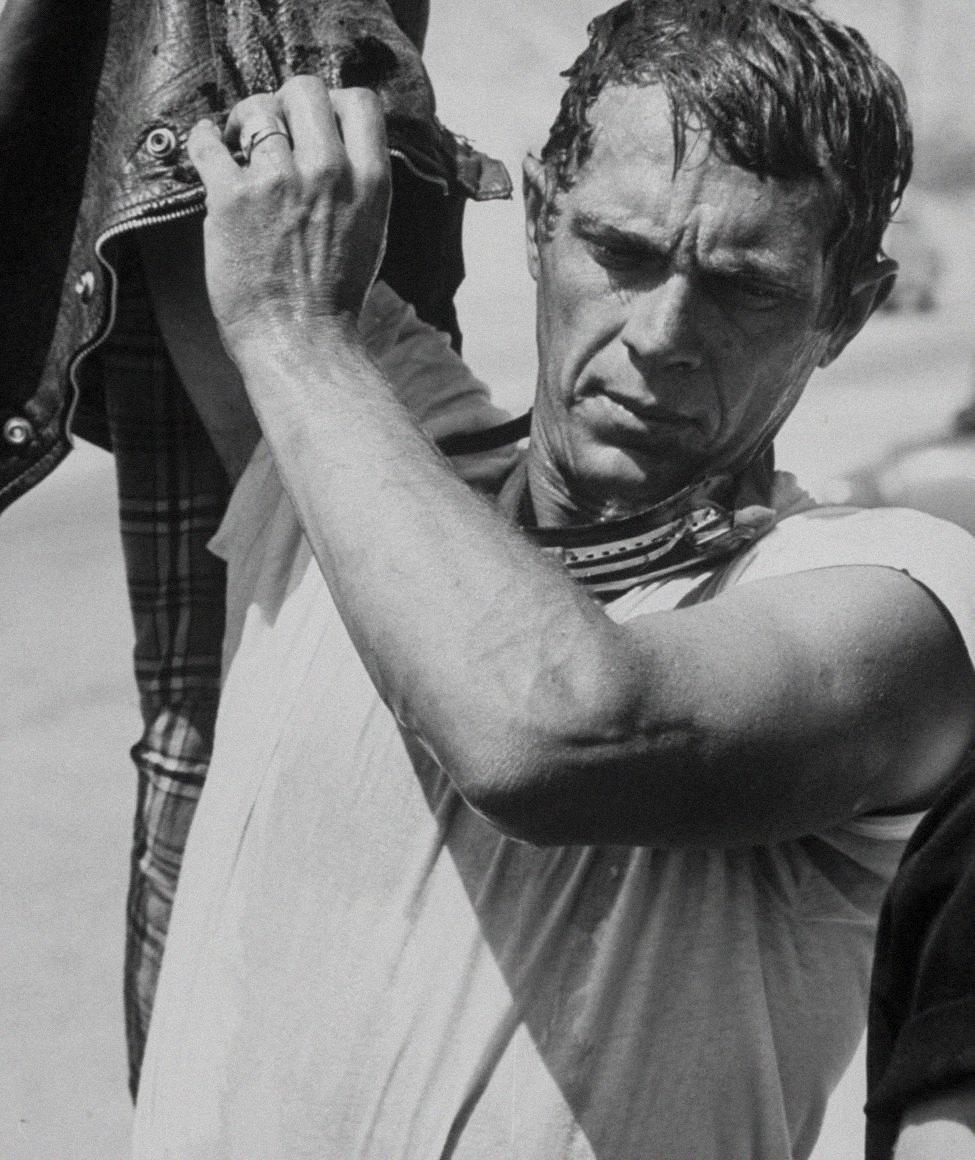 Стив Маккуин наШестидневных соревнованиях, Эрфурт, Германия, 1964
