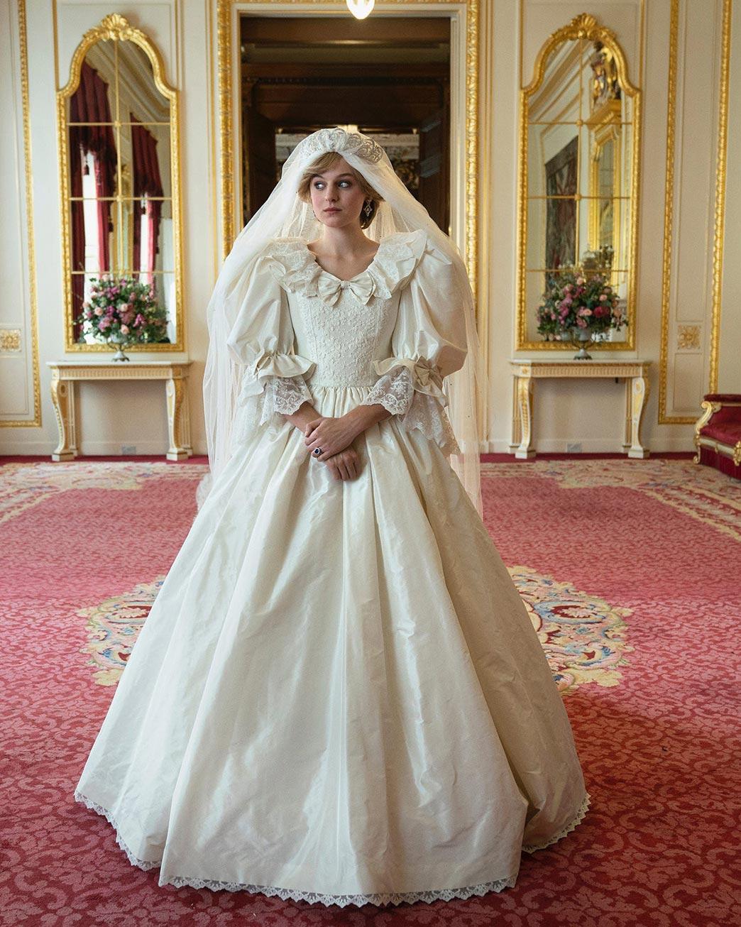 Свадебное платье героини Эммы Коррин всериале