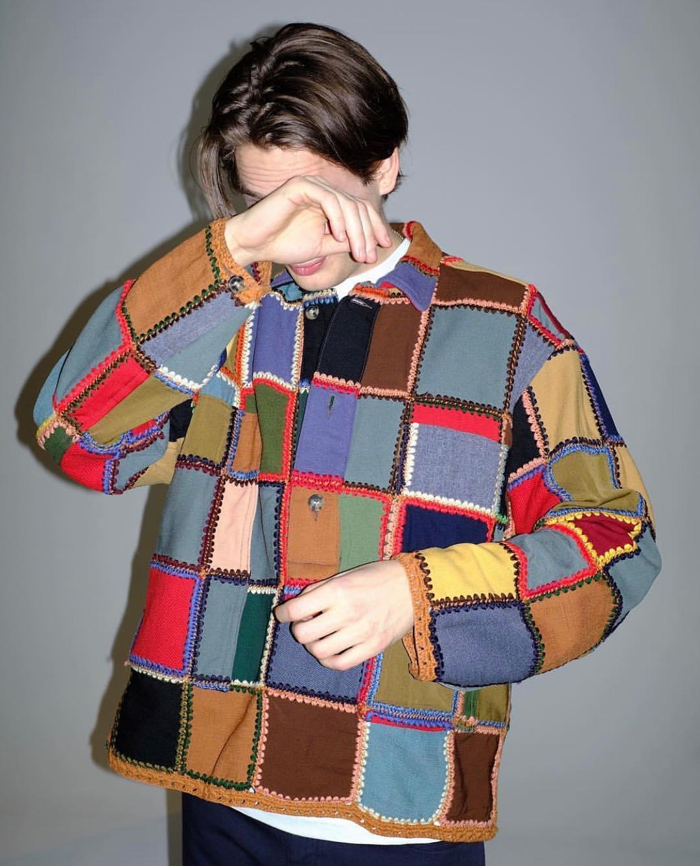 Жакет Bode излоскутного одеяла